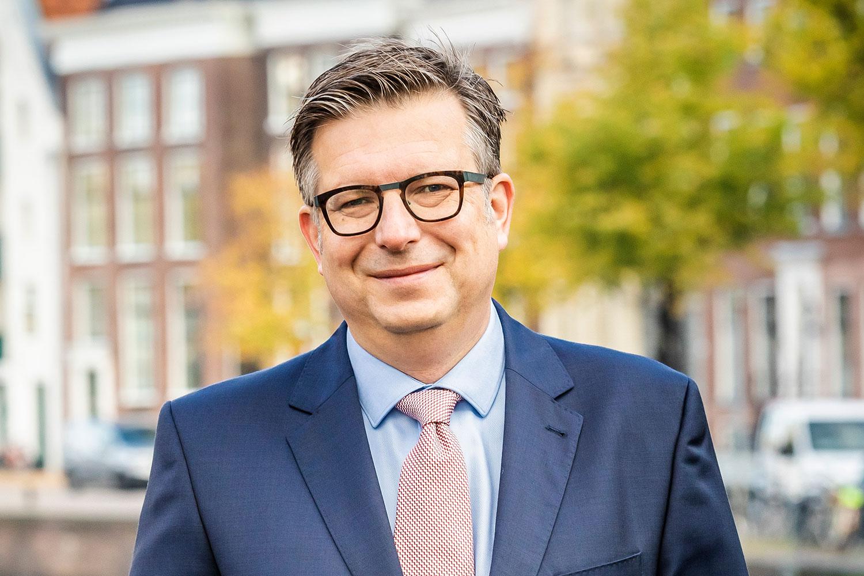 Wethouder Roeland van der Schaaf. Foto: Gemeente Groningen.